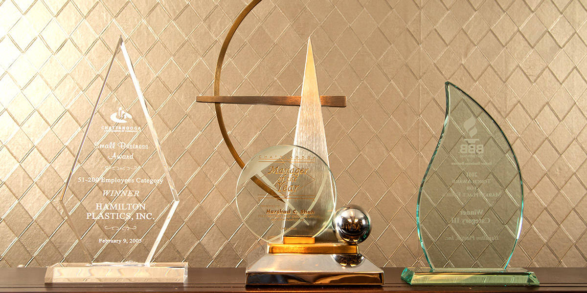 awards won by Hamilton Plastics