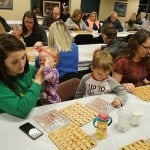 Bingo at the Hamilton Plastics Christmas Party