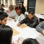 Bingo at the Hamilton Plastics Christmas Party