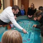 Roulette at Hamilton Plastics Christmas Party