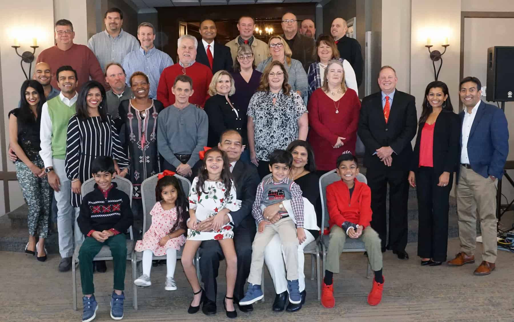 HP Management Team Christmas Party 2018