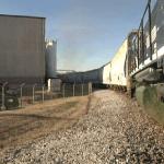 Rail Cars at Hamilton Plastics.